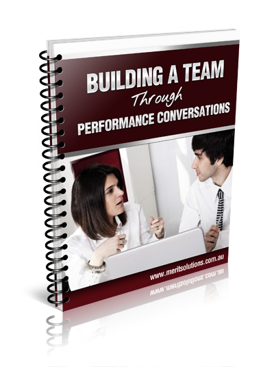 Building a Team Through Performance Conversations