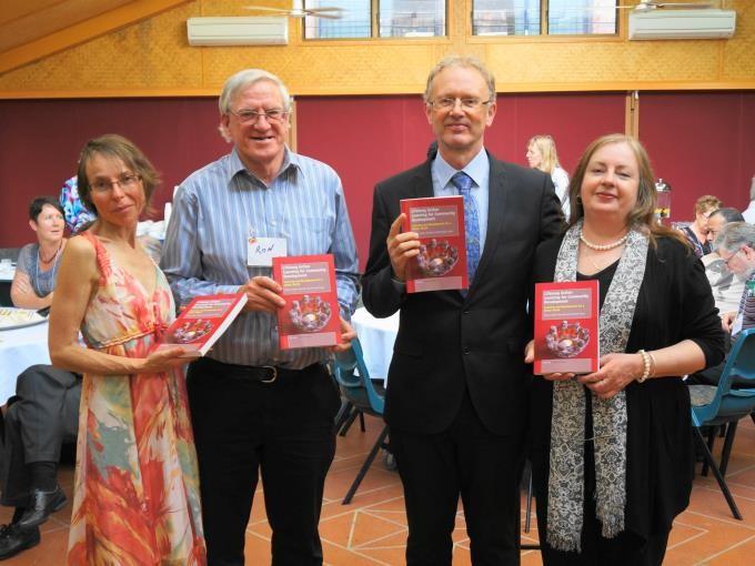 Book Launch - Maureen Todhunter (Editor), Ron Passfield, Richard Teare (Co-Author), Jo Anne Pomfrett (Proofreader)