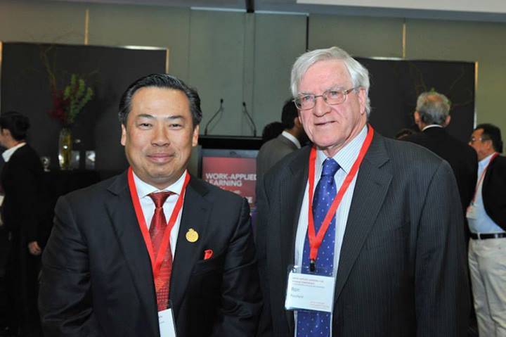 Tan Sri Eng and Dr Ron Passfield