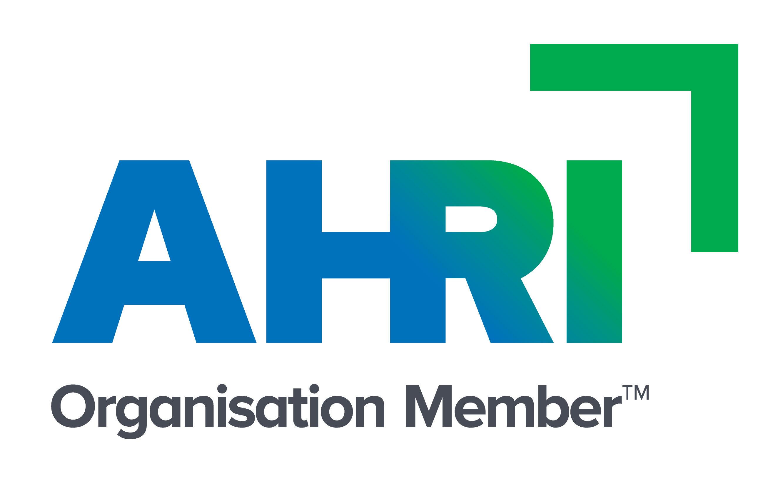 AHRI Organisation Member Logo